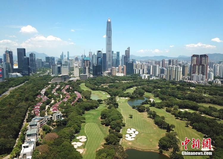 중국 최초의 경제특구 심천, 발전 스피드 한눈에